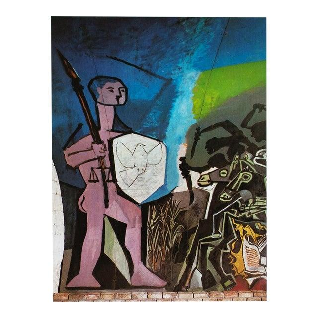 1971 Picasso War & Peace Parisian Photogravure For Sale