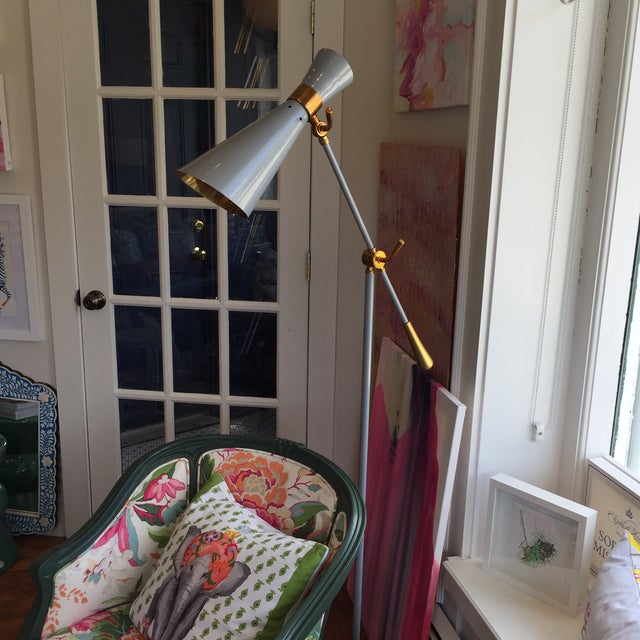 Brass Bungalow 5 Wasp Floor Lamp For Sale - Image 7 of 12