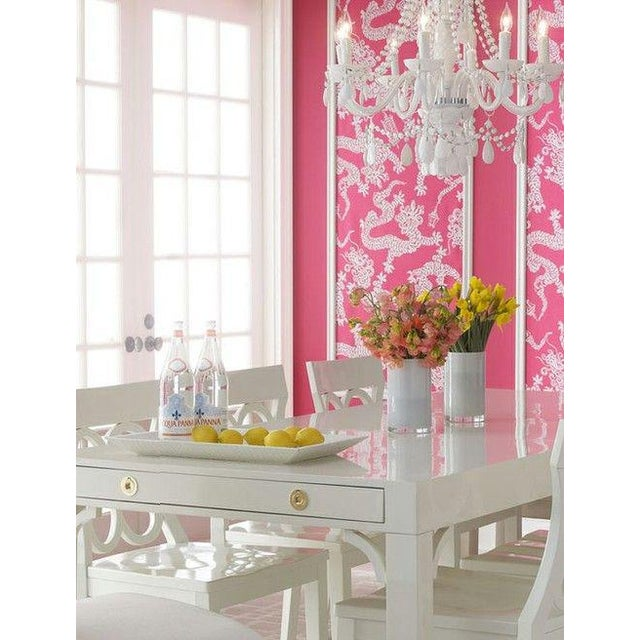 Boulevard Parsons Table by Lilly Pulitzer For Sale - Image 9 of 13