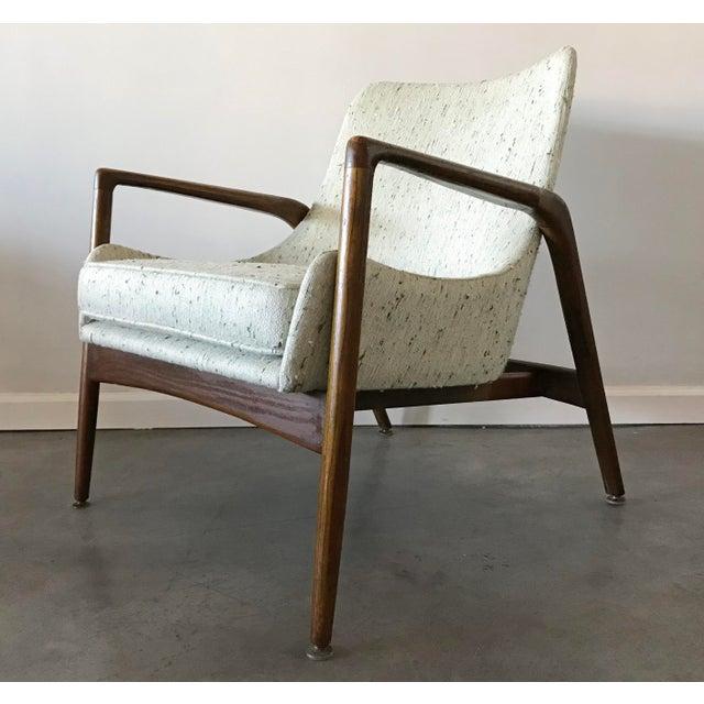 Ib Kofod-Larsen Ib Kofod Larsen Lounge chair For Sale - Image 4 of 6