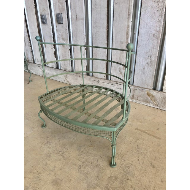 Mid-Century Modern Midcentury Garden Chair by Woodard For Sale - Image 3 of 6