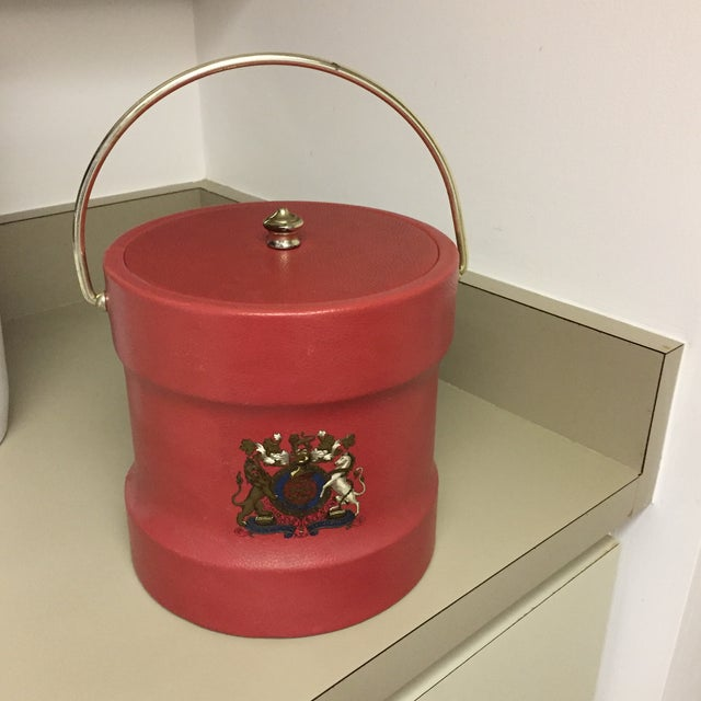 Gray Vintage Kraftware Ice Bucket For Sale - Image 8 of 8
