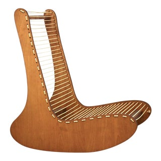 Tubbs Modern Low Lounge Chair Designed by Carl Koch For Sale