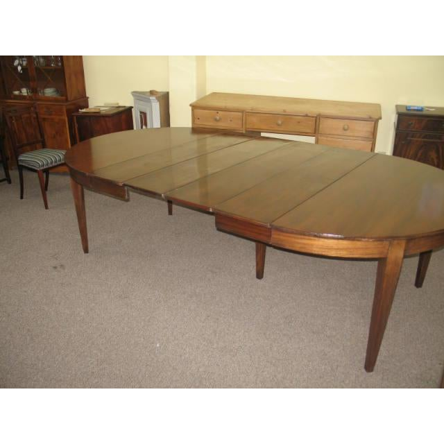 Antique Extending Mahogany Dining Table - Image 8 of 11