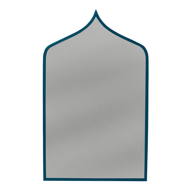 Stray Dog Designs for Chairish Marrakesh Mirror, Deep Blue For Sale