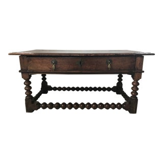 18th Century Jacobean Side Table For Sale