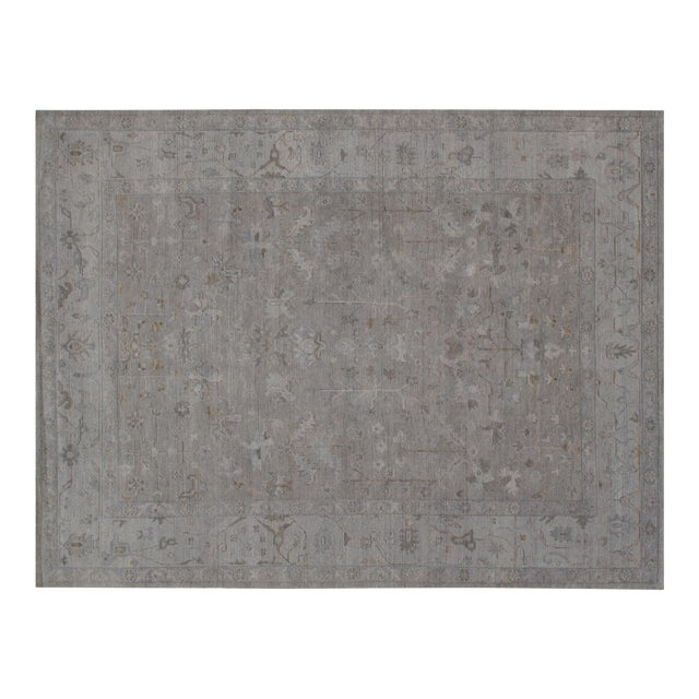"Stark Studio Rugs Koze Rug in Grey/Light Blue, 12'0"" x 15'0"" For Sale"