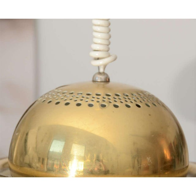 Tobia Scarpa Brass Pendant Light by Tobia Scarpa For Sale - Image 4 of 5