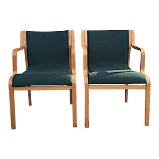 1950s Vintage Stendig Inc. Stacking Chairs- A Pair For Sale