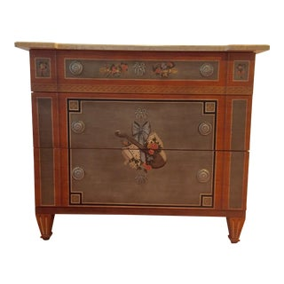 Drexel Trompe L'oeil Chest