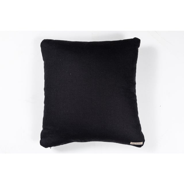 Mid 20th Century Chinese Silk Ribbon Pillow For Sale - Image 5 of 6