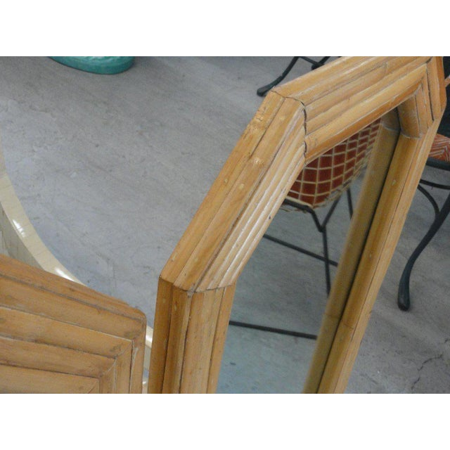 Florida Style Rattan Mirrors - A Pair - Image 5 of 6