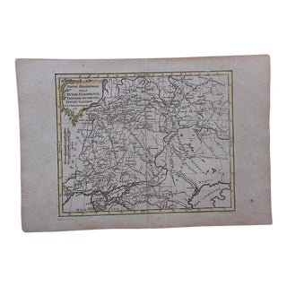 18th C. Antique Map-Russia & Tartary For Sale