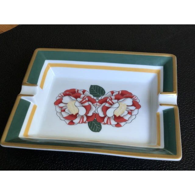 Hermes Paris Porcelain Ashtray For Sale - Image 9 of 13