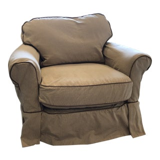 Lillian August Couture Club Chair For Sale