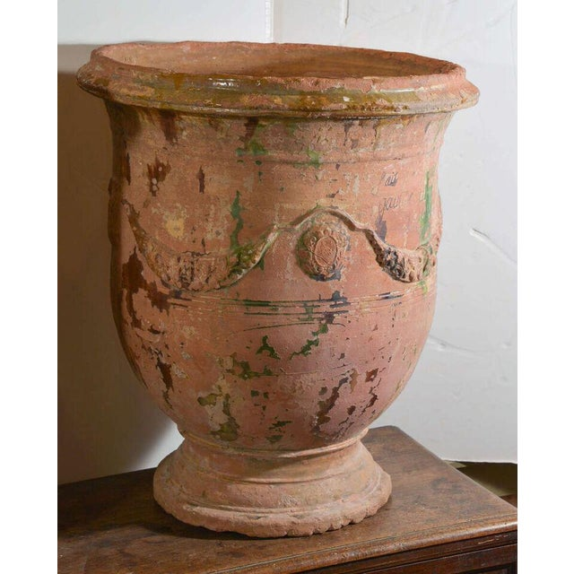 Pair of Large 18th Century Anduze Jars For Sale - Image 9 of 11
