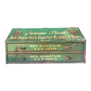 1940s New Departure Tool Box For Sale