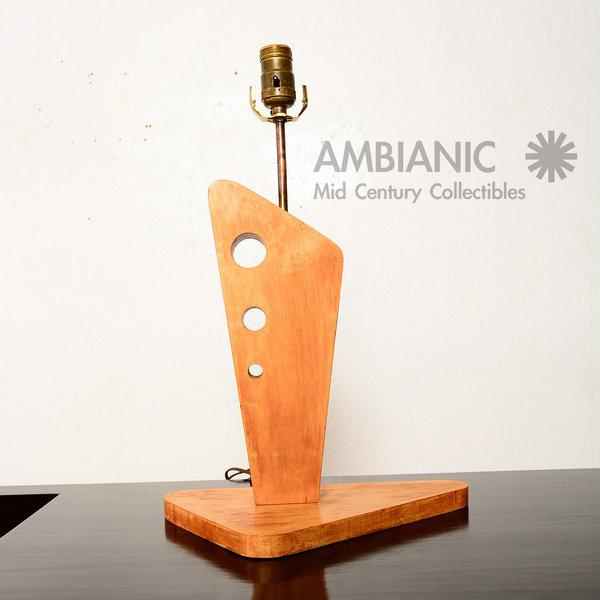 Mid-Century Modern Pair of Mid-Century Table Lamps by George Gin For Sale - Image 3 of 10