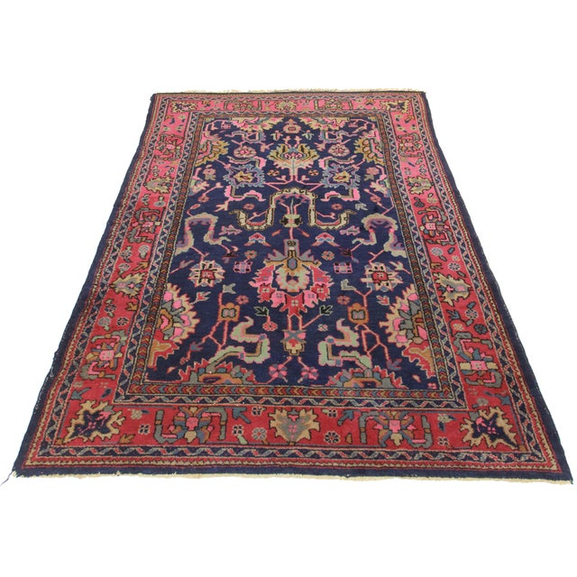 RugsinDallas Vintage Wool Turkish Sparta Oushak Rug - 5′10″ × 8′10″ - Image 2 of 2
