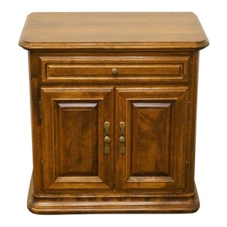 20th Century Traditional Ethan Allen Classic Manor Cabinet Nightstand