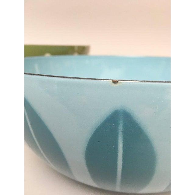 Cathrineholm Scandinavian Modern Enamel Nesting Bowls - Set of 5 For Sale - Image 10 of 11