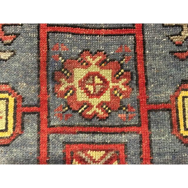 "Bellwether Rugs Vintage Turkish Oushak Runner - 4'9"" X 14'3"" - Image 8 of 10"