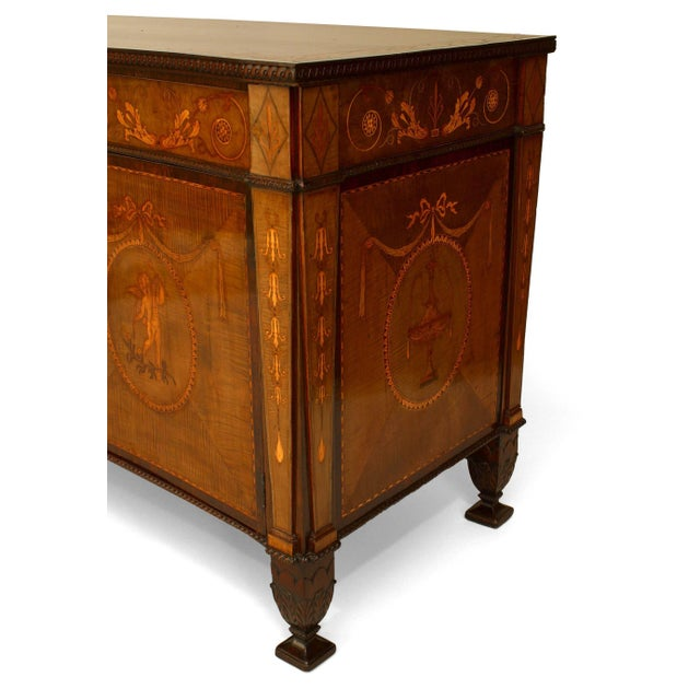Rare and Important 18th Century English Adam Commode For Sale In New York - Image 6 of 8