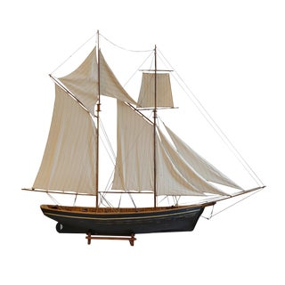 Early 20th c. Monumental Ship Model c. 1940 For Sale