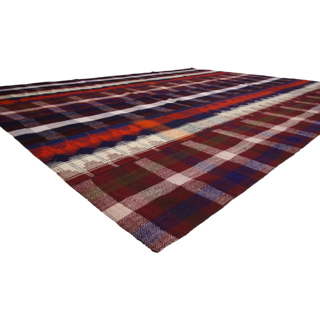 60805, vintage Tartan Plaid Area rug with modern rustic charm and luxury lodge style. Conjure the feel of modern rustic...