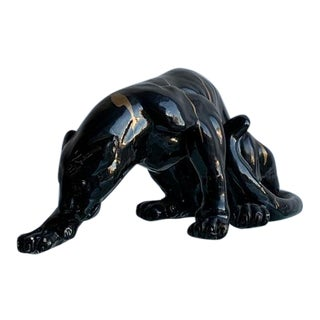 Petite Panther Figure For Sale