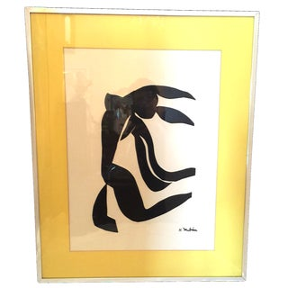 Henri Matisse Black and White Print