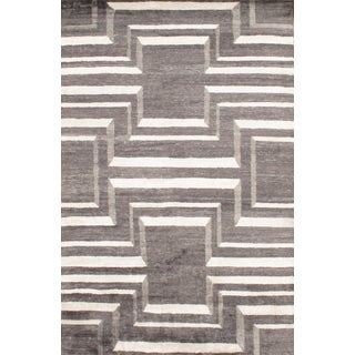 Modern Bamboo Rug - 6' X 9' For Sale