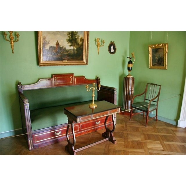 Late 19 Century Russian Czarist Regency Library Table For Sale - Image 11 of 12