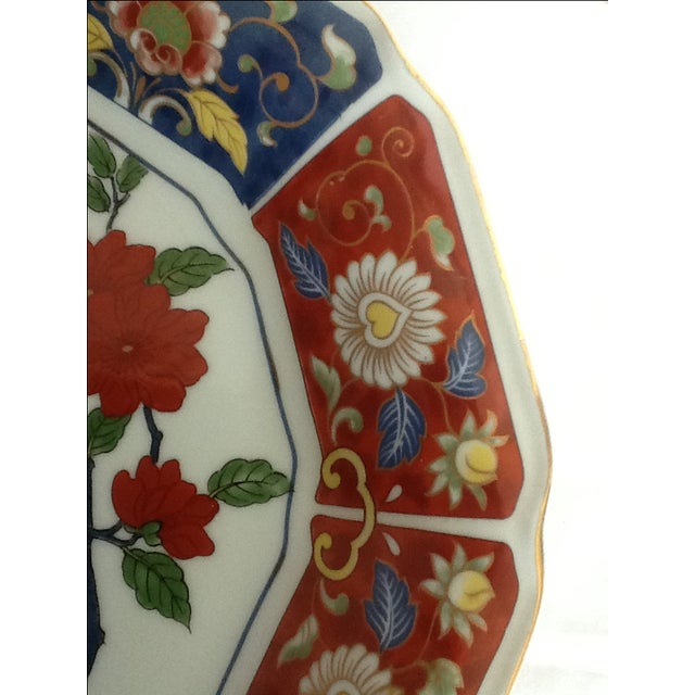 Vintage Imari Perched Bird Plate - Image 5 of 8