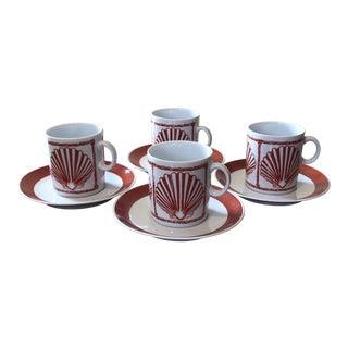 Favolina Poland MCM Demitasse Espresso Set - 16 Pieces For Sale