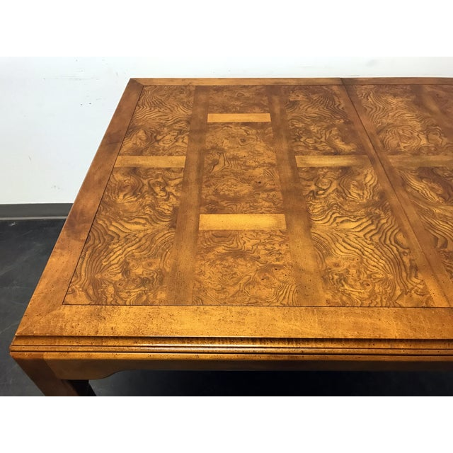 1970s CENTURY Chin Hua by Raymond K Sobota Asian Chinoiserie Dining Table For Sale - Image 5 of 11