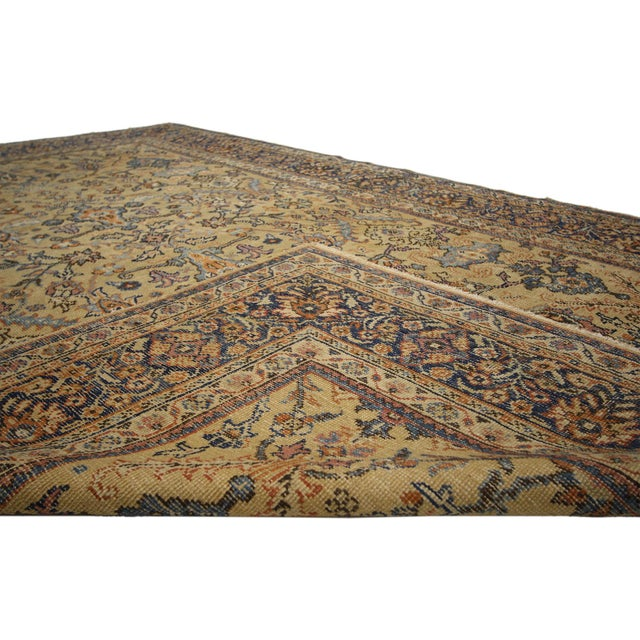 Antique Persian Sultanabad Rug - 06'04 X 09'10 For Sale - Image 4 of 6