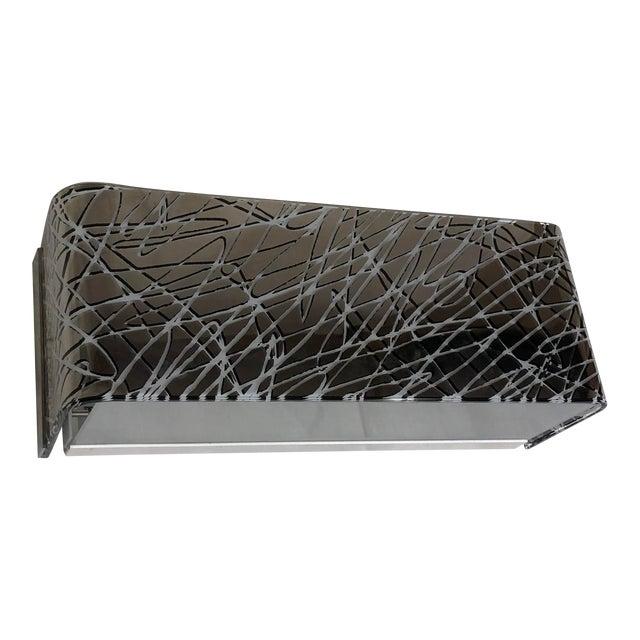 Leucos Block P29 Wall Sconce Platinum Finish For Sale