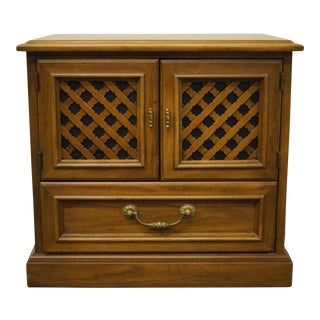 Drexel Heritage Esperanto Collection Spanish Mediterranean Cabinet For Sale