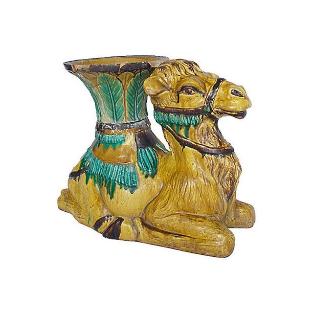 Terracotta Camel Planter For Sale In Los Angeles - Image 6 of 13