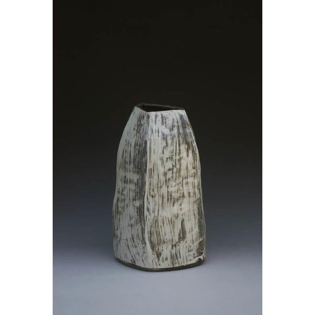 Contemporary Kang Hyo Lee, Puncheong Jar With Ash Glaze, Ca. 2012 For Sale - Image 3 of 3