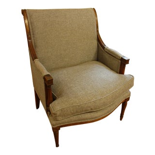 Early 19th Century French Bergere For Sale