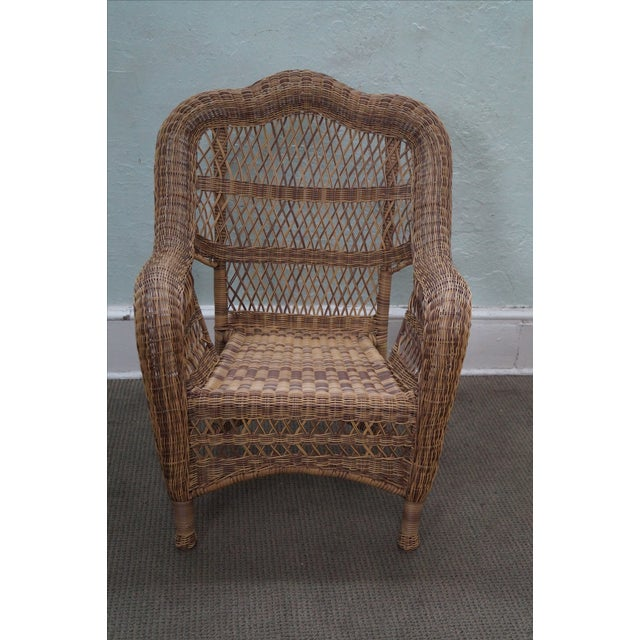 Quality Outdoor Wicker Patio Set - 4 Pieces - Image 10 of 10