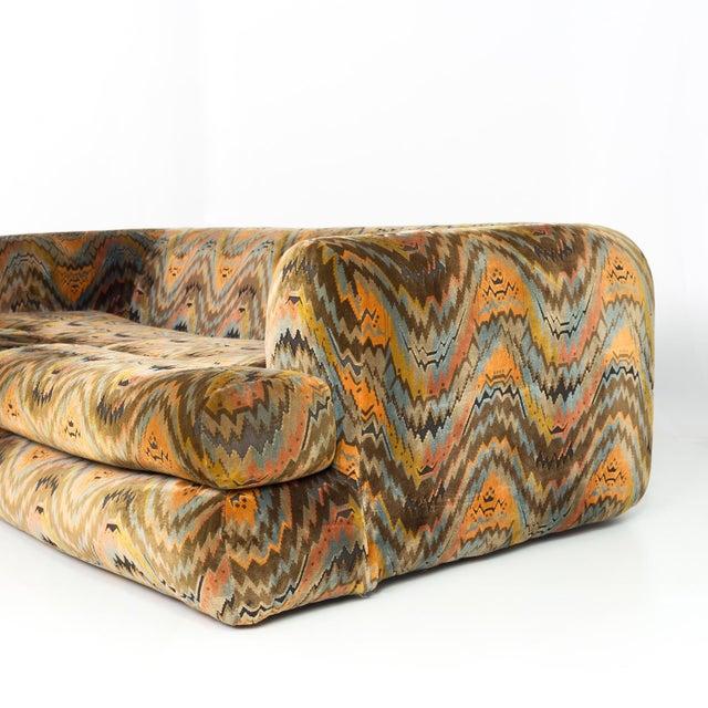 1960s Mid Century Modern Milo Baughman for Thayer Coggin Sofa For Sale - Image 5 of 12