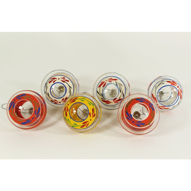 Vintage Glass Christmas Ornaments (Set of 6) - Image 3 of 3