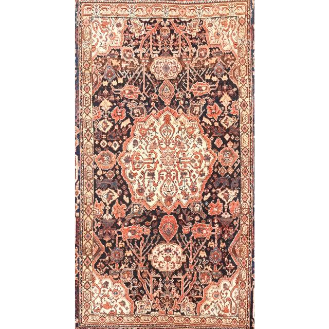 Antique Red Bakhtiari Persian Area Rug 6'0'' x 9'10'' Red