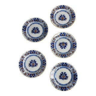 Antique Minton Imari Plates - Set of 5 For Sale