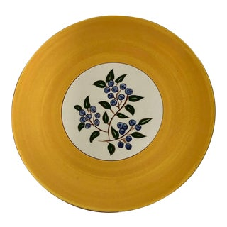 Stangl Blueberry Pattern Platter For Sale