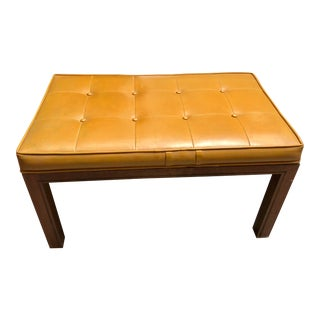 1960s Vintage Foster McDavid Walnut Bench For Sale