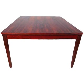 Vintage Modern Rosewood Coffee Table For Sale